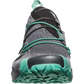 La Sportiva Unika Zapatillas running Mujer, carbon/jade green